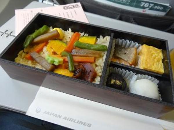 2014年11月 日本航空 / JAL JL93 機内食