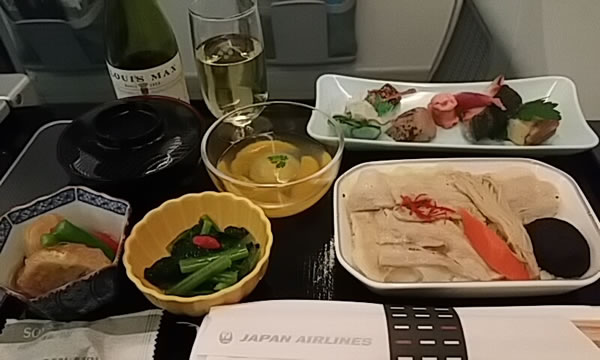 2015年6月 日本航空 / JAL JL94 機内食