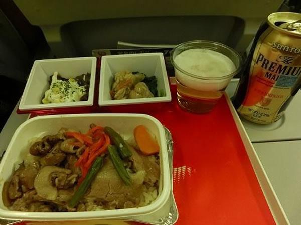 2016年5月 日本航空 / JAL JL95 機内食