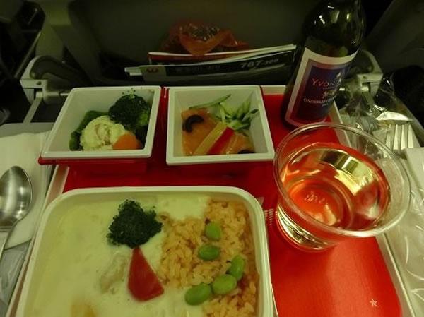 2016年3月 日本航空 / JAL JL95 機内食
