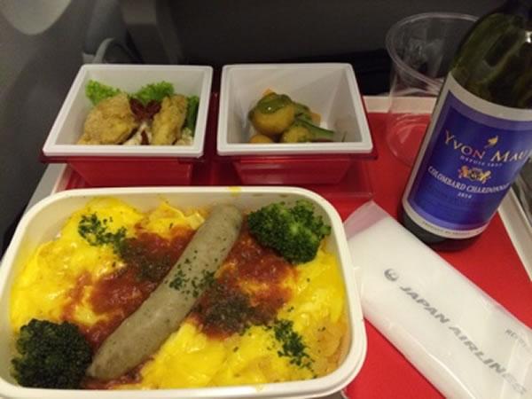 2015年12月 日本航空 / JAL JL95 機内食