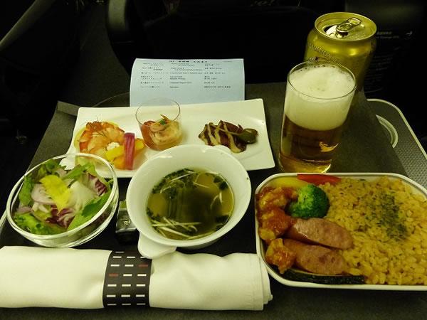 2015年7月 日本航空 / JAL JL95 機内食