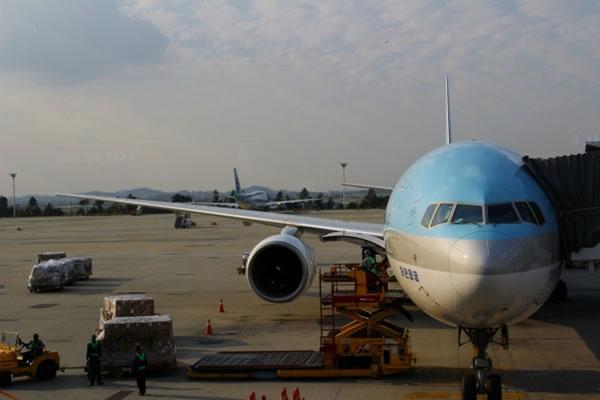 2013年9月 大韓航空 KE2709 搭乗記