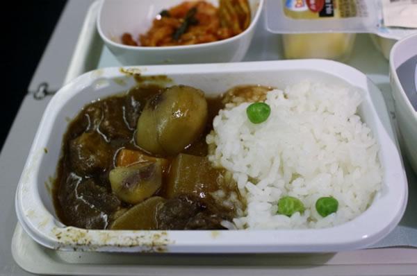 2013年9月 大韓航空 KE2709 機内食
