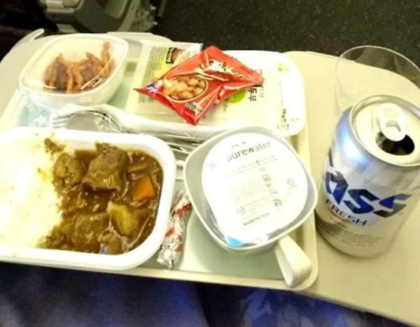 2016年3月 大韓航空 KE2709 機内食