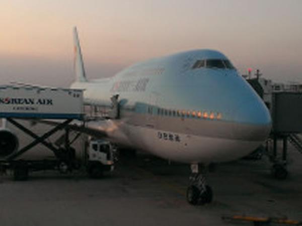 2013年10月 大韓航空 KE2711 搭乗記