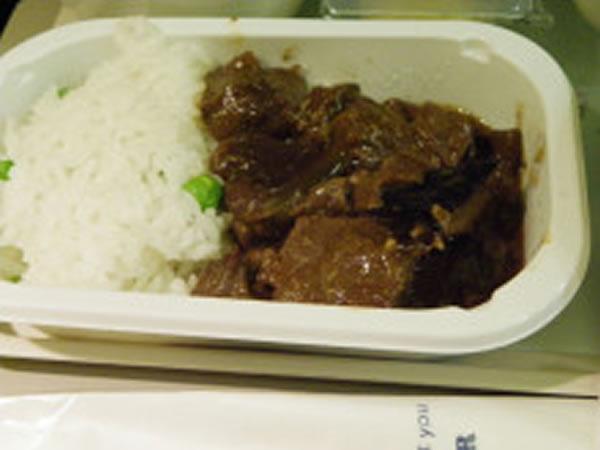 2013年10月 大韓航空 KE2711 機内食