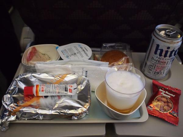 2015年11月 大韓航空 KE2712 機内食