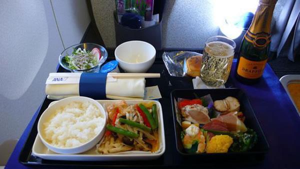 2010年12月 全日空 ./ ANA NH861/NH1161 機内食
