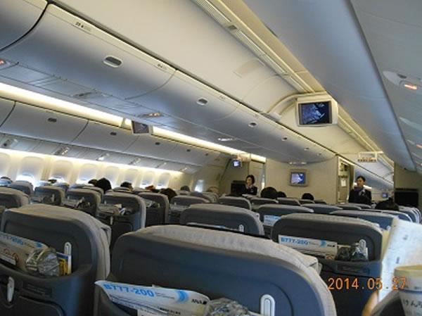 2014年10月 全日空 / ANA NH861/NH1161 搭乗記