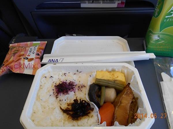 2014年10月 全日空 / ANA NH861/NH1161 機内食