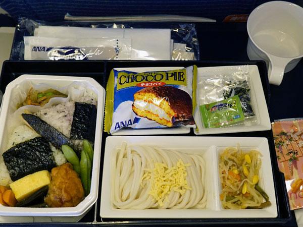 2014年12月 全日空 / ANA NH861/NH1161 機内食