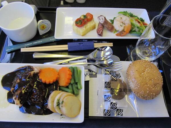 2014年12月 全日空 / ANA NH864 / NH1162 機内食