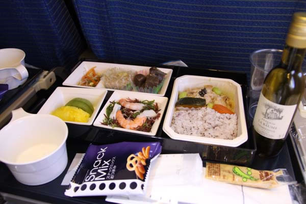 2012年11月 全日空 ./ ANA NH865 / NH1165 機内食