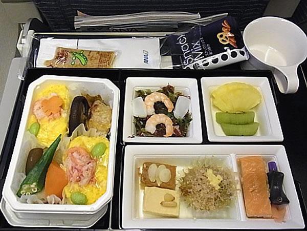 2012年1月 全日空 ./ ANA NH865 / NH1165 機内食