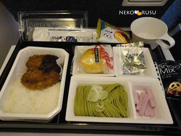 2013年2月 全日空 ./ ANA NH865 / NH1165 機内食