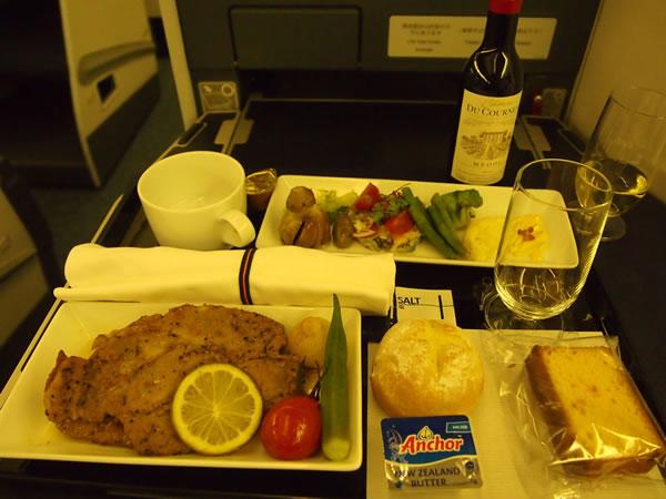 2014年7月 全日空 / ANA NH867 / NH1167 機内食