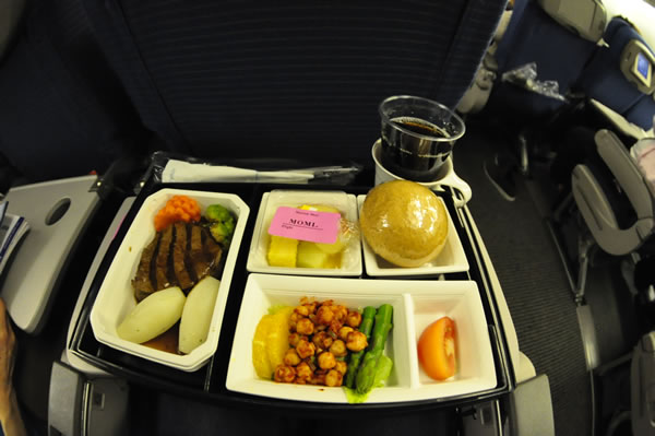 2014年3月 全日空 ./ ANA NH868 / NH1166 機内食