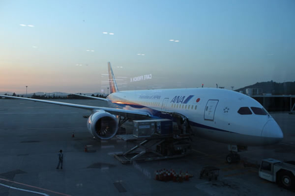 2015年5月 全日空 / ANA NH868 / NH1166 搭乗記