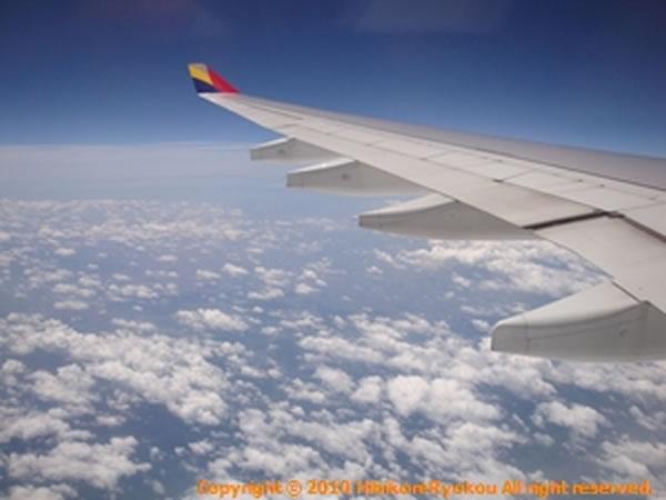 2011年7月 アシアナ航空 OZ1075 搭乗記