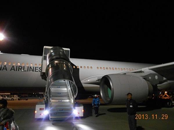 2013年11月 アシアナ航空 OZ1085 搭乗記