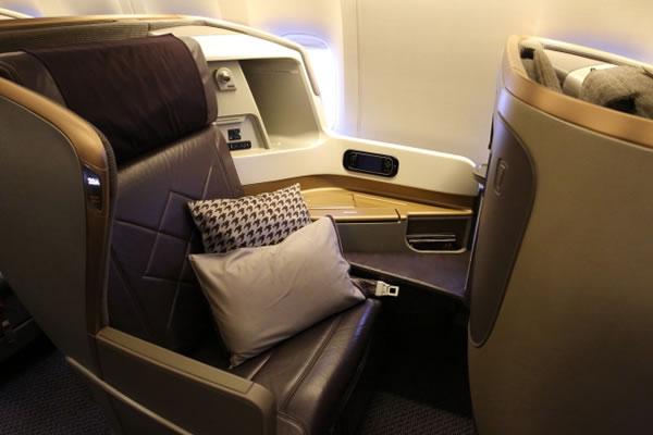 2016年8月 シンガポール航空 SQ631 搭乗記