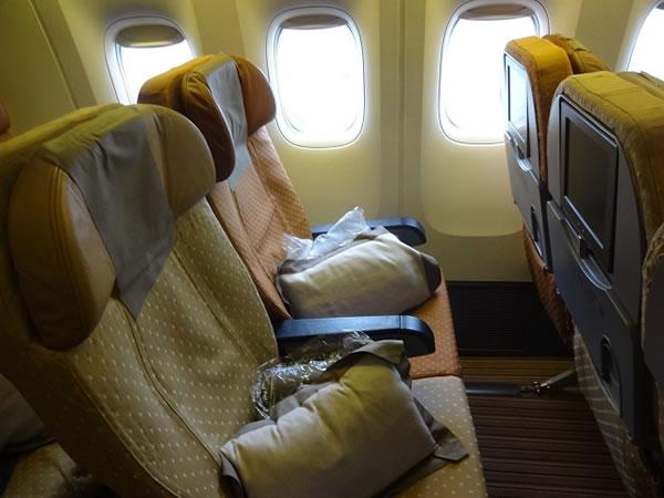 2015年7月 シンガポール航空 SQ633 搭乗記