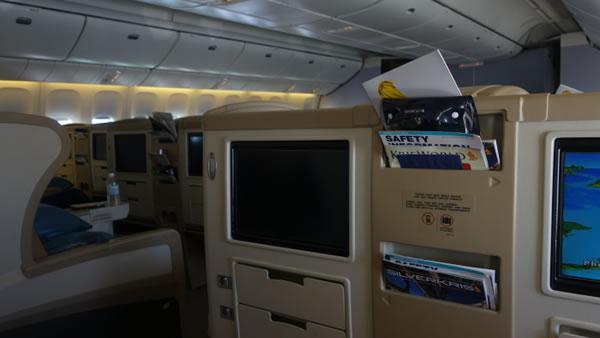 2015年4月 シンガポール航空 SQ634 搭乗記