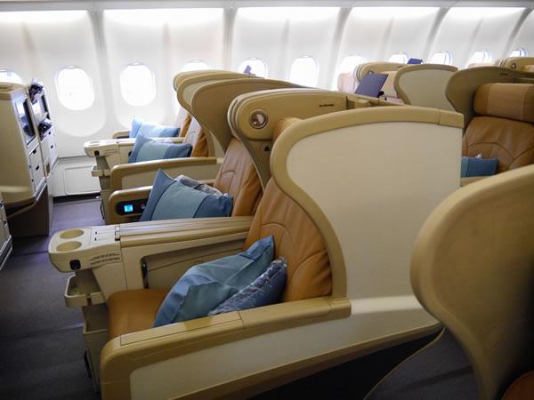2013年7月 シンガポール航空 SQ635 搭乗記