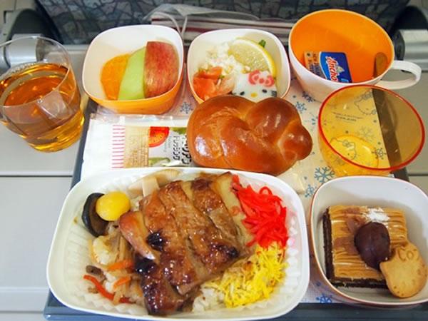 2014年12月 エバー航空 BR189 機内食