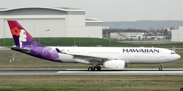 ハワイアン航空 ホノルル便を同社最新のA330-200に大型化