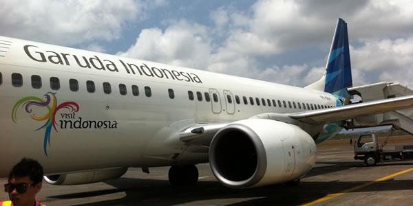 ガルーダ・インドネシア航空 羽田-デンパサール(バリ島)就航