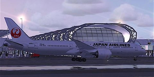 バンコク スワンナプーム空港 JAL