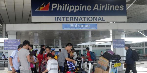 マニラ ニノイ アキノ国際空港 フィリピン航空