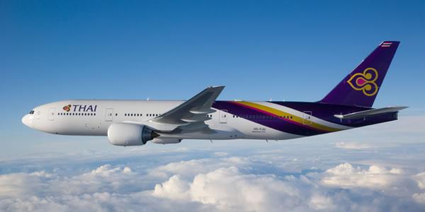 タイ国際航空 羽田-バンコク線を1日2便に増便 昼間発着枠増加で