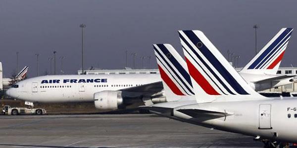 エールフランス航空機