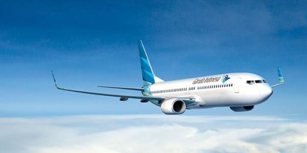 ガルーダ・インドネシア航空機