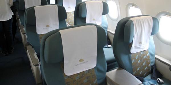 ベトナム航空 A321 ビジネスクラス