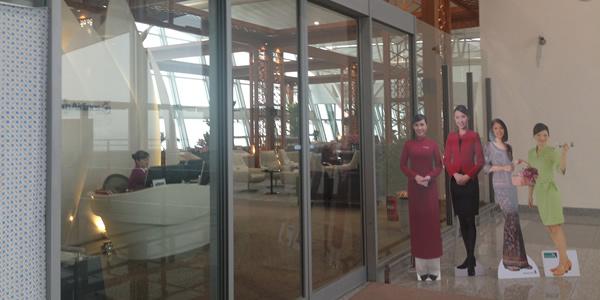ハノイ ノイバイ空港 ベトナム航空 ラウンジ