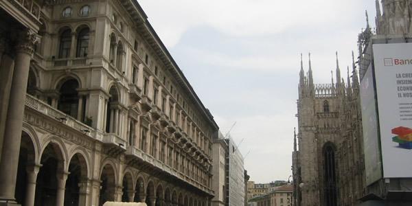 ミラノ中心部