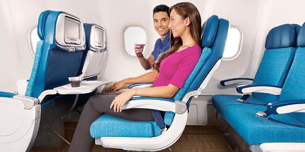 ハワイアン航空 プレエコ 「エクストラ コンフォートシート」を導入