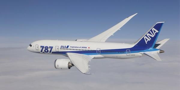 ANA 羽田-バンコク線 全便(1日2往復)をボーイング787で運航