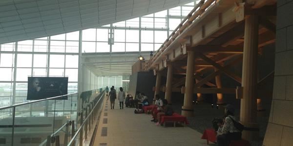 羽田国際線ターミナルの一般エリア拡張部分がオープン 日本橋も