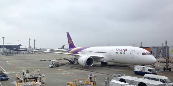 タイ国際航空 ボーイングB787就航 羽田-バンコク線で1日1便